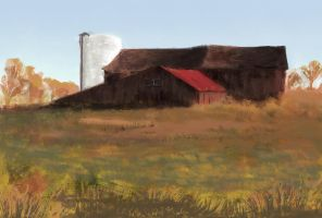 Barn speed sketch by Vezarez