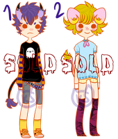 [CLOSED] DEMON BOY ADOPTS: SET 4 by kittenspines