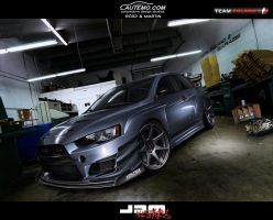 Mitsubishi Lancer Evolution X by MartinDesign93
