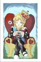 Queen Roger: Queen of hearts by winchick