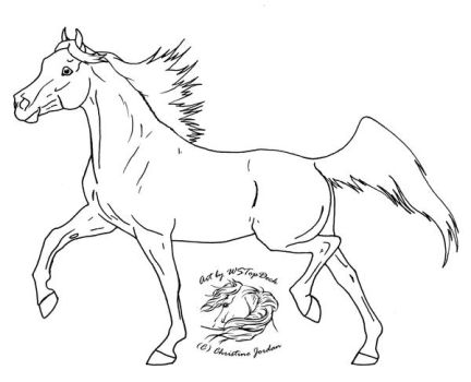 Arabian lineart for dA use by WSTopDeck