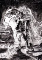 Back to The Future - Drew Struzan Practice by smjblessing