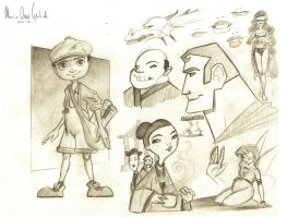 Sketches by MarioOscarGabriele