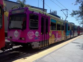 san diego pony trolley by Mallinda