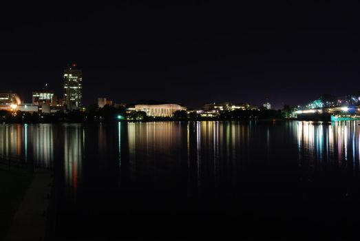 Night Lights on the Ottawa Riv by MuscleWoman
