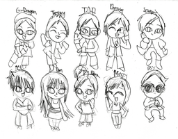 Some of YG Family by Bokeol