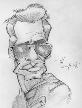 Mark Anthony Caricature by HJacobi