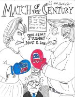 The Match of the Century [2016 Election] by JCSStudio