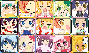 Shugo Chara Icon's by Chibi-Hearts