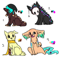Paypal adoptables! OPEN by VlSl0N