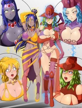 Fusioned witches by StormFedeR