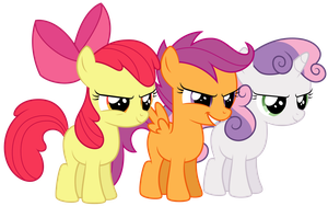 Cutie Mark Competitors by Ready2Fail