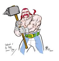 Obelix Redesign - Colors by rubioric