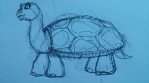 JZ - MWWR || Galapagos Tortoise by SapphireSquire