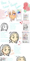 How to color Skin+Eyes Part 1(So lame~) by Madame-Lemon