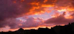 Sunset Over Berlin 103 by ErinM2000