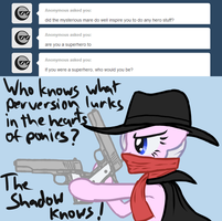 The Shadow knows! by Arrkhal