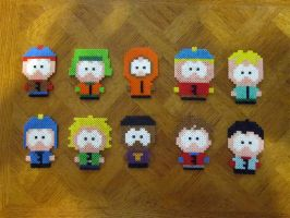 South Park Perlers by Reichee