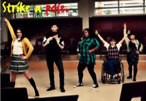 GLEE- Strike a Pose by xXxfangedxXx