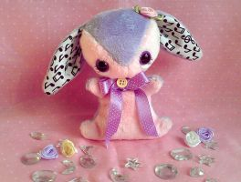 Laurel - Teacup Bunny Baby - FOR SALE by tiny-tea-party