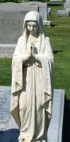 Mount Olivet Cemetery Mary 31 by Falln-Stock