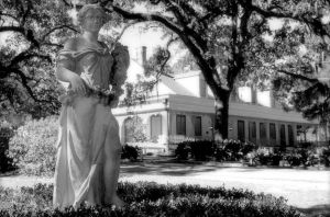 The Myrtles House and Statue by SalemCat