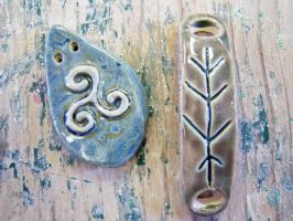 Rune Pendants by Bardagh