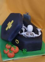 Coffin Cake Back by Verusca