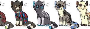 Adoptables | open by niqqa-adopts