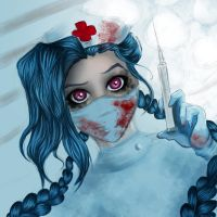 Jinx nurse by queenofhamsters