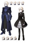 Fate/Hollow ataraxia Render by bloomsama