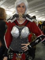 Warhammer 40K cosplayer at NYC Comic Con 2013 by FUBARProductions