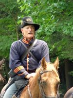 Captain 2nd US Cavalry by MorganCG