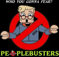 miniMates Peoplebusters Logo by Derrico13