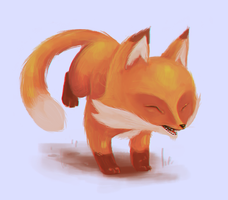Little fox by eyesbox