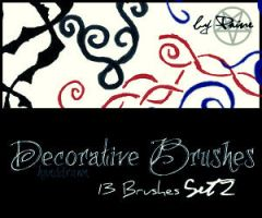 Decorative Brushes Set2 by NemesisDivina666