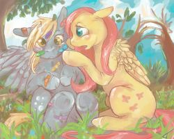 Bandaids and Butterflies by Fyrecalla