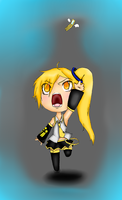 Neru chibi: Flying phone final by Chipupull