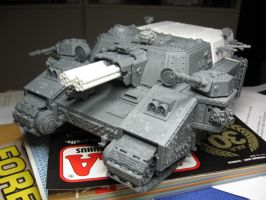 WIP Stormlord assault carrier by Durnstaros