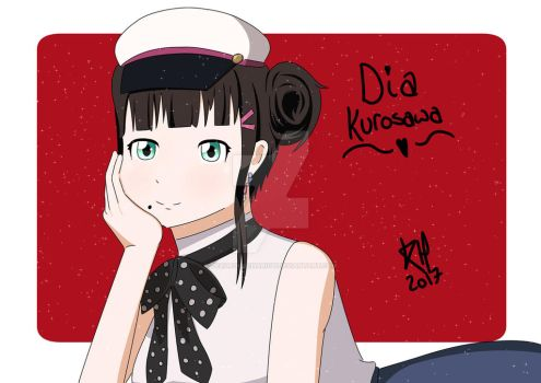 Dia Kurosawa -Time Travel by deadrockchariot