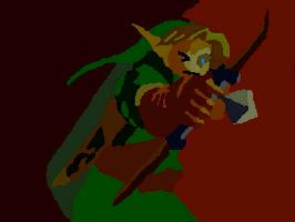 OoT Green Tunic Link by TheHylianHaunter