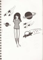 Spacegirl and other tales.. by deehumidifier