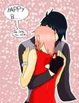 Sasusaku - Happy B... by AniiTaRuiz