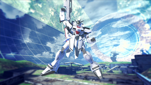 Gundam Breaker 2 - Gertech Gundam by lordvipes