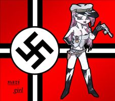 nazi girl by xxstarship-trooperxx