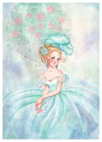 Little glass slipper by Chpi