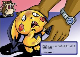 Pichu lost the battle by razorcat