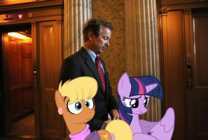 Rand Paul, Twi and Harshwhinny by RicRobinCagnaan