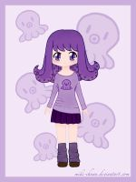 7 Days Color Challenge - Day 6: Purple by miki-chaan