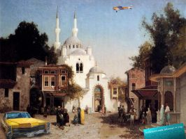 indeterminate ottoman city 1 by LayerLayer